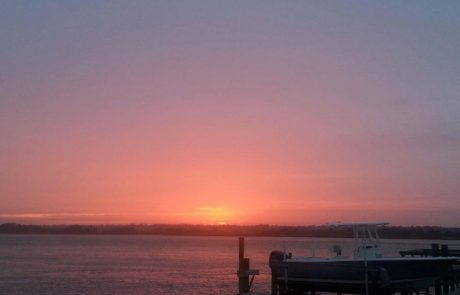 Breezeway Topsail Sunset