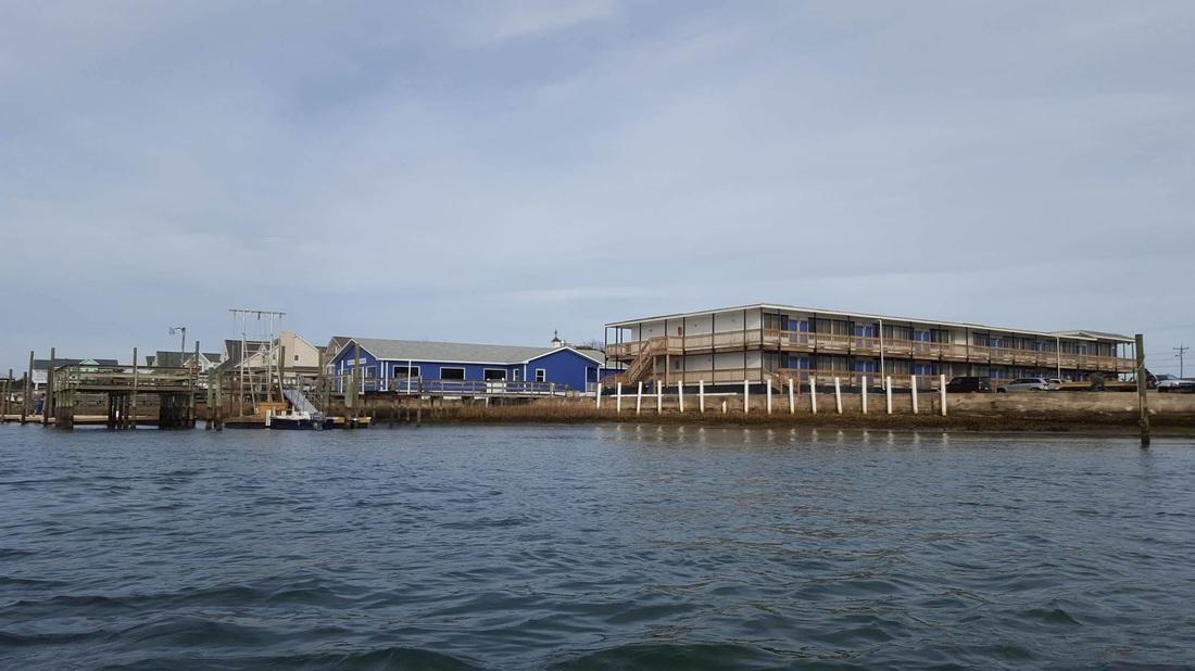 Topsail Beach Fishing on the Breezeway Pier